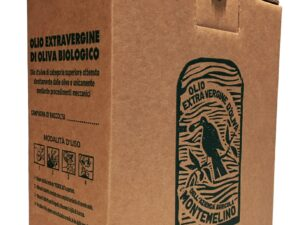 Organic Extra Virgin Olive Oil – Bag in Box 3 Liters